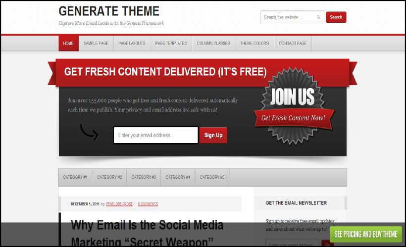 Change thesis theme footer