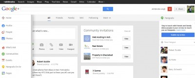 Google Plus Revamped-Added + To It