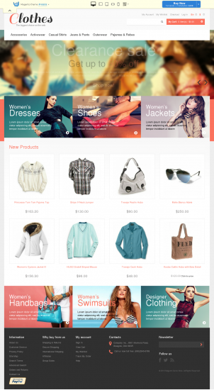 Best Magento Themes & Templates