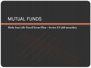 Birla Sun Life Fixed Term Plan – Series EN (60 months)‏ NFO
