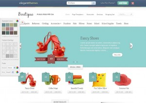 Boutique ecommerce theme from elgant themes