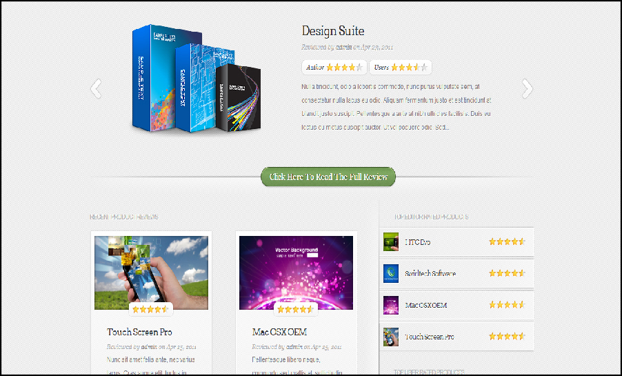 Inreview elegant themes best wp templates