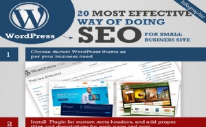 Cutting Edge SEO Tactics for WordPress Site (Infographics)