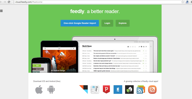 feedly google reader alternative