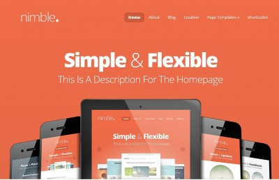 nimble elegant themes