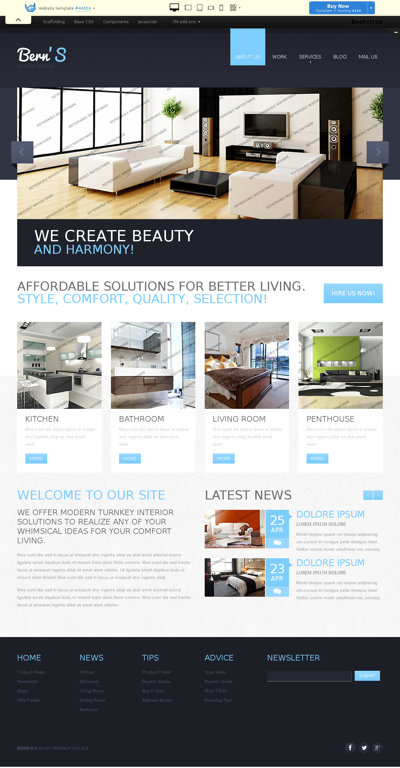 website template 44659