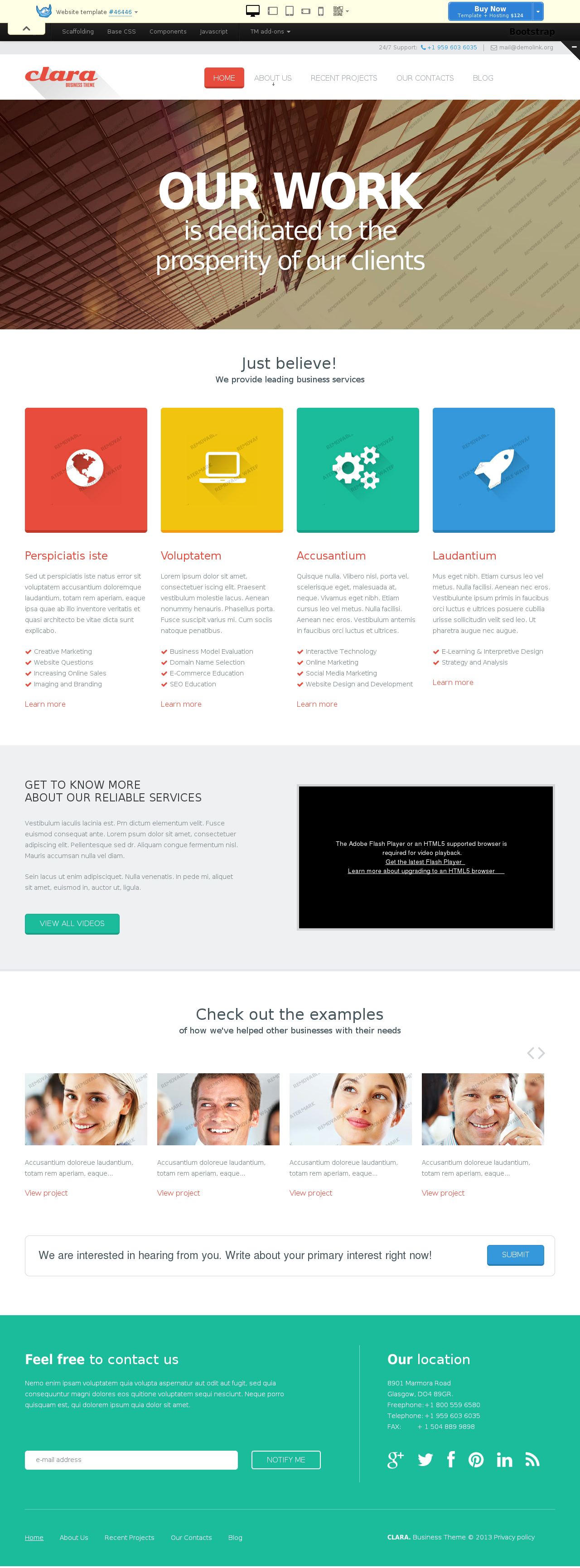 website templates 46446