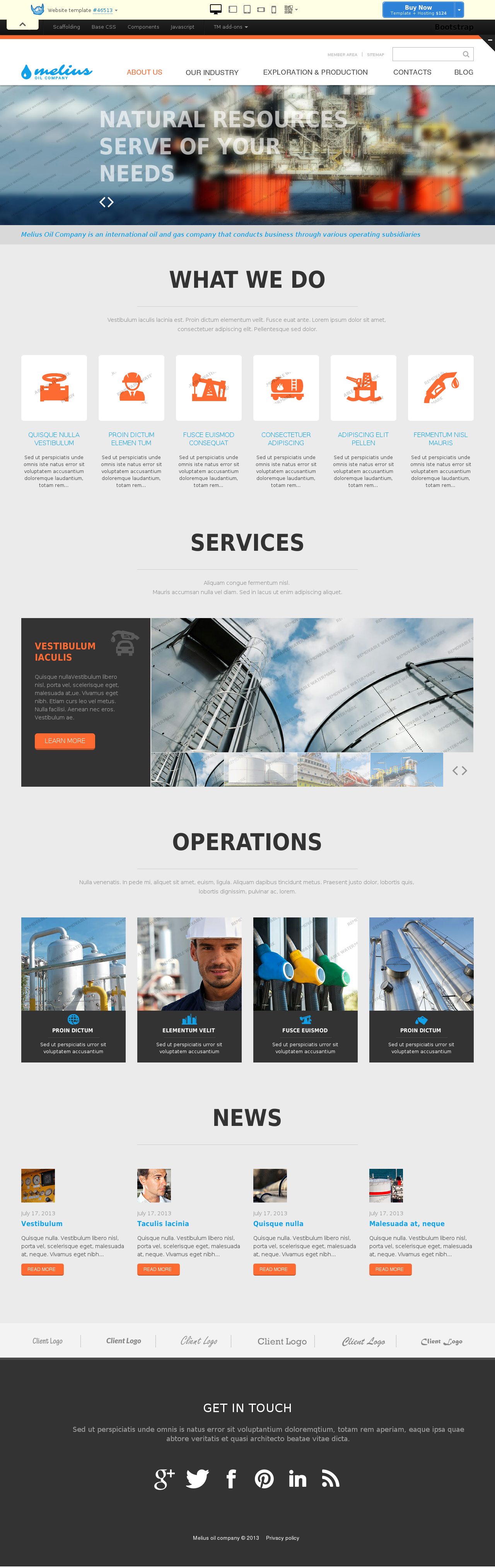 website template 46513