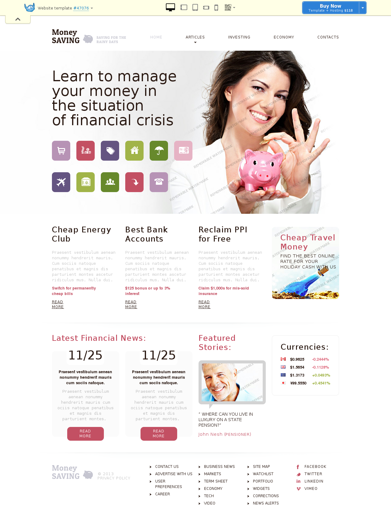 website template # 47076