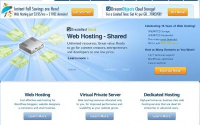 dreamhost review-website hosting